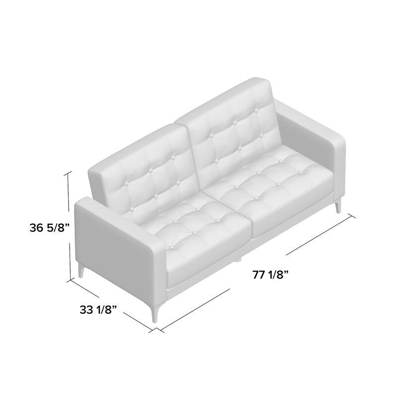 Wade Logan Jayde Foldable Sleeper Sofa Amp Reviews Wayfair