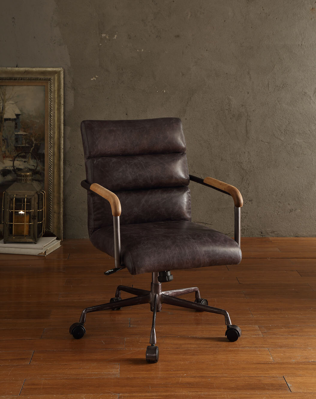 high back leather chairs. ACME Furniture Harith High-Back Leather Executive Chair \u0026 Reviews | Wayfair High Back Chairs :
