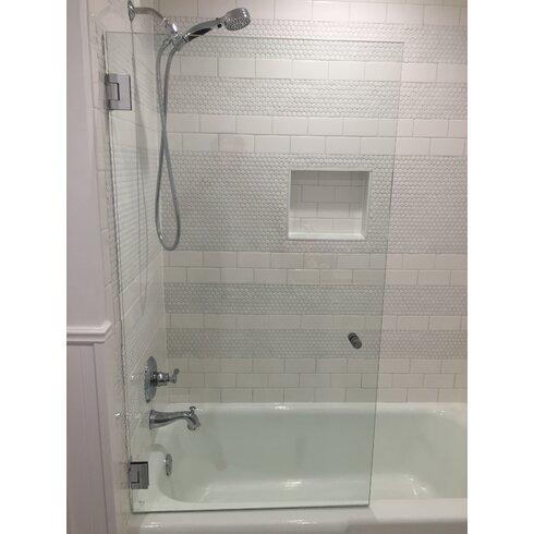 aqua asp glass doors screens door tub frameless with