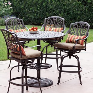 bar height patio sets wayfair rh wayfair com patio furniture bar height table set patio furniture pub table and chairs