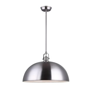 Southlake 1-Light Bowl Pendant By Beachcrest Home