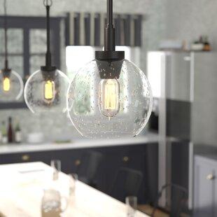 Read Reviews Fulton 1-Light Globe Pendant By Trent Austin Design