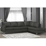 Terrific Full Grain Leather Sectional Wayfair Pdpeps Interior Chair Design Pdpepsorg