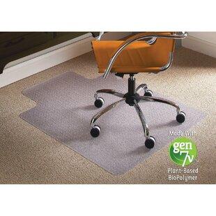 Natural Origins Low Pile Carpet Straight Edge Chair Mat by ES Robbins Corporation