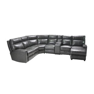 Tory Power Headrest Reclining Sectional  by Brayden Studio