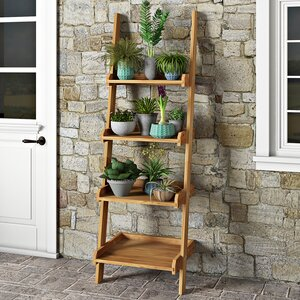 Maserno Rectangular Ladder Plant Holder