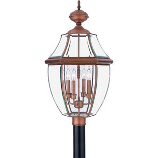 Millbrook Outdoor 4-Light Lantern Head By Three Posts Outdoor Lighting