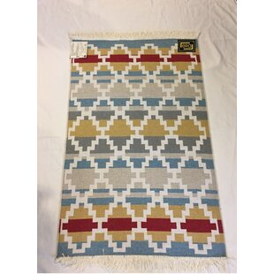 Accent Double Sided Red/Blue Indoor/Outdoor Area Rug byoyo concept