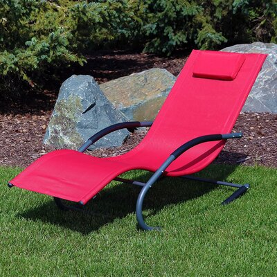 Single Chaise Outdoor Chaise Amp Lounge Chairs You Ll Love
