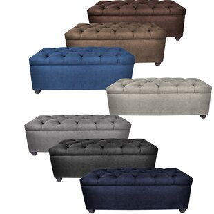Heaney Upholstered Storage Bench