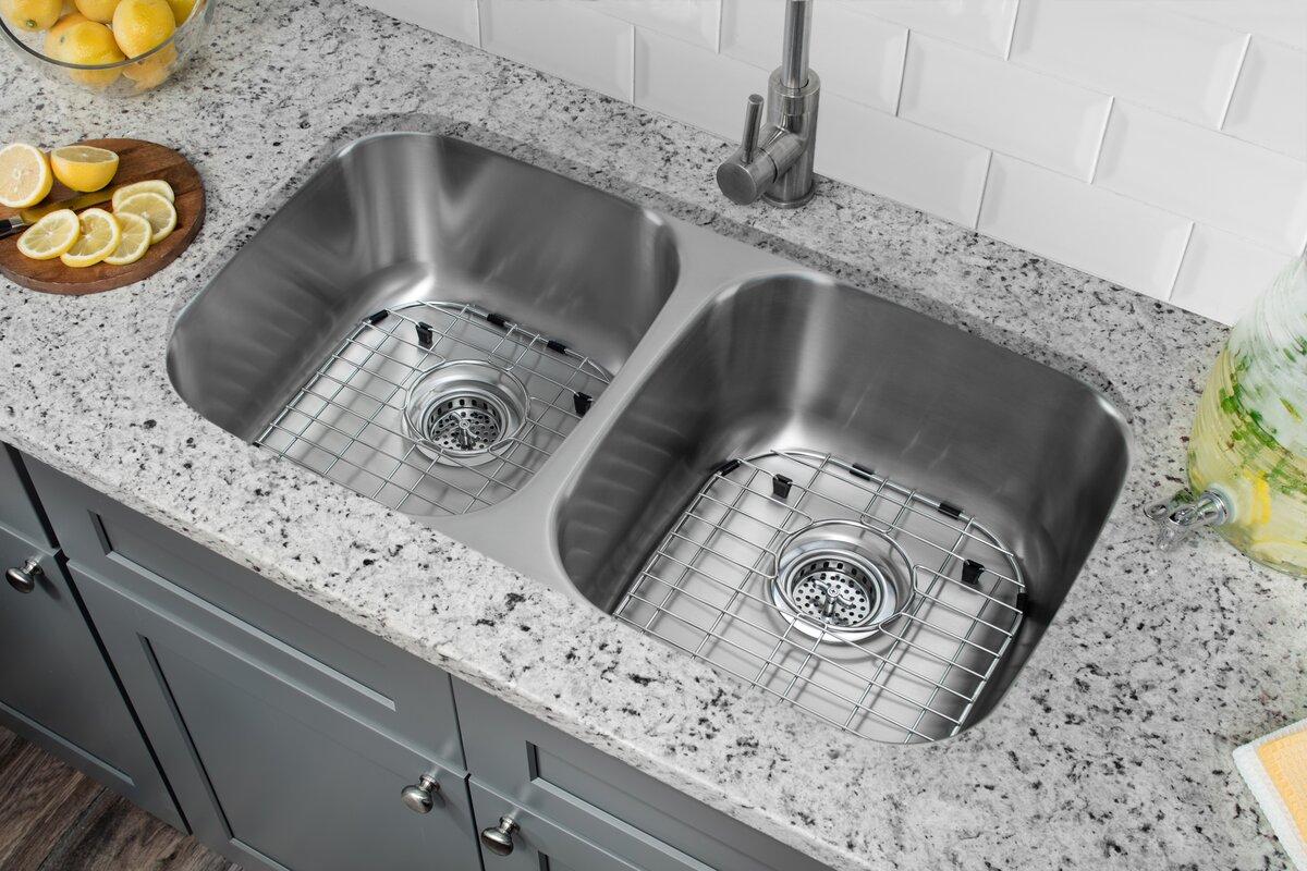 100+ 33x19 kitchen sink ruvati roma 33.ruvati rvh8050 drop in