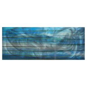 Ocean View by Nicholas Yust Graphic Art Plaque by Metal Art Studio