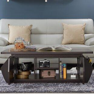 Suruga Storage Coffee Table with Magazine Rack Brayden Studio