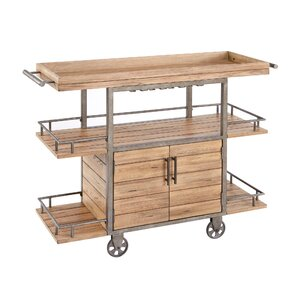 Greg Bar Cart by Gracie Oaks
