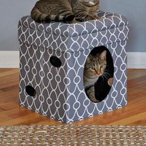 17'' Lambeth Pattern Cat Condo