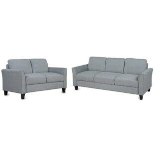 Akridge 2 Piece Living Room Set by Andover Mills™