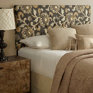 Dawn King Upholstered Panel Headboard by Darby Home Co