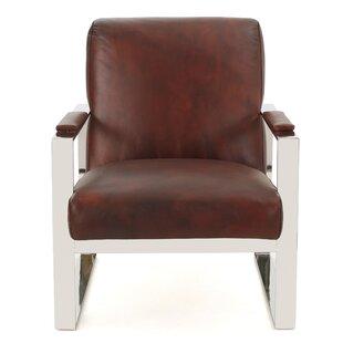Far West Leather Armchair