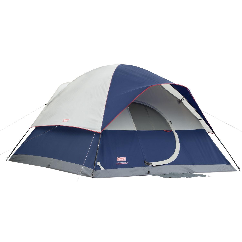 4 Person Coleman Blue//Gray Sundome Dome Tent