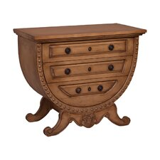 Bonithon 3 Drawer Accent Chest by World Menagerie