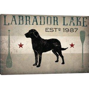 'Labrador Lake II' Graphic Art Print by East Urban Home
