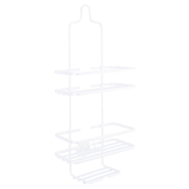 Rebrilliant Dimond Aluminum Flat Wire Shower Caddy | Wayfair