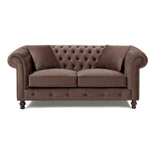 Microfiber Chesterfield Sofa