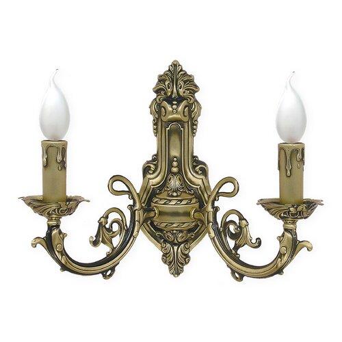 Drumavoley 2-Light Candle Wall Light Astoria Grand