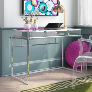 Read Reviews Alvis 1 Drawer Writing Desk ByWilla Arlo Interiors