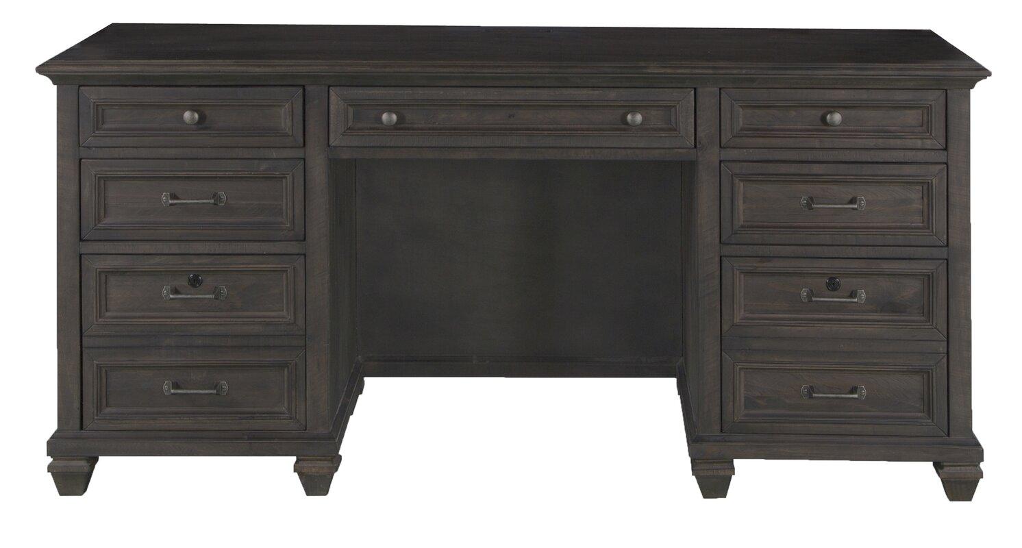 Pri Wood Executive Desk