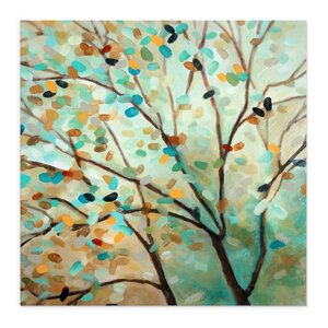 'Tree of Life II' Painting Print on Wrapped Canvas by Andover Mills