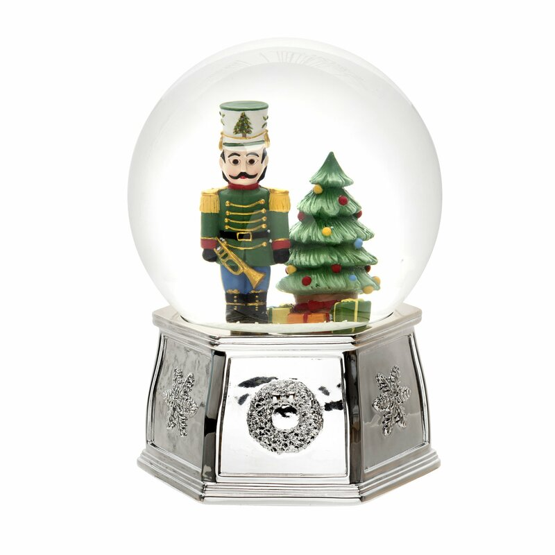 Christmas Tree Delivery Snow Globe