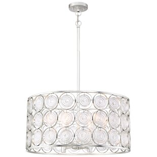Inexpensive Ladwig 6-Light Drum Chandelier By House of Hampton