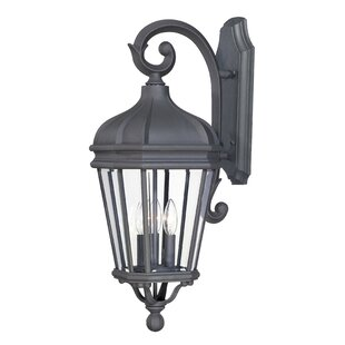 Affordable Price Harrison 3-Light Outdoor Wall Lantern By Great Outdoors by Minka