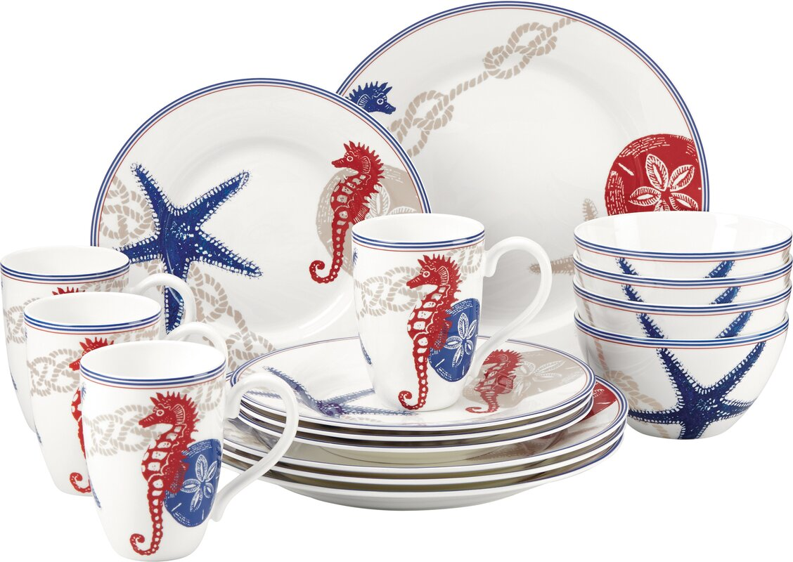 Nautical Dinnerware | Wayfair