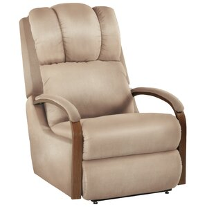 Harbor Town Power Leather Recliner by La-Z-Boy