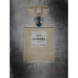 Chanel No.5 Vintage Advertisement on Wrapped Canvas by Willa Arlo Interiors