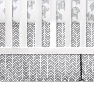 Inexpensive Superior Crib Dust Ruffle ByGreyleigh