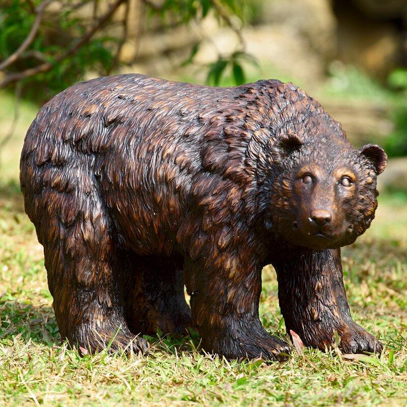 Merveilleux Garden Bear Statue