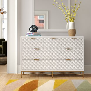 Francesca 7 Drawer Double Dresser by Foundstone