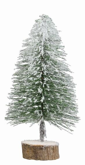 snowy brush 12 green artificial christmas tree - 12 Artificial Christmas Tree
