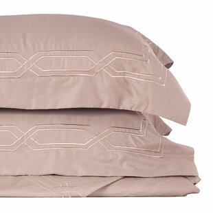 Husby Stitch 3 Piece Duvet Cover Set by House of Hampton