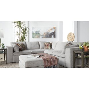 Dayna 103.5 L-Shaped Sectional by Wrought Studio