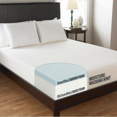 Carpenterco Comfort Tech 10 Quot Medium Serene Foam Mattress
