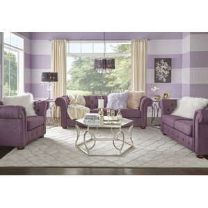 Purple Living Room Sets Youll Love Wayfair