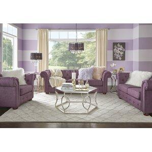 Purple Living Room Sets Youll Love Wayfair - purple living room