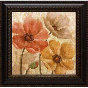 Poppy Allure II by Conrad Knutsen Framed Painting Print by Lark Manor