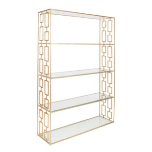 Hammered Etagere Bookcase