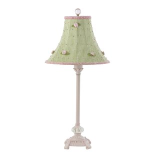 Online Reviews Scroll Glass Ball 23.5 Table Lamp By Jubilee Collection