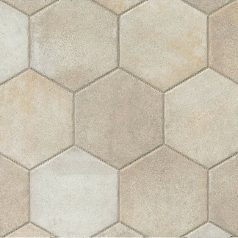 Tribal 13 5 X Porcelain Hexagon Tile
